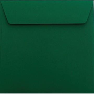 1 Briefumschlag 17 x 17 cm 170 x 170 mm Tannen Grün Verschluss: Kuverts mit Haftstreifen