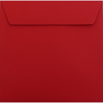 1 Briefumschlag 17 x 17 cm 170 x 170 mm Rosen Rot Verschluss: Kuverts mit Haftstreifen