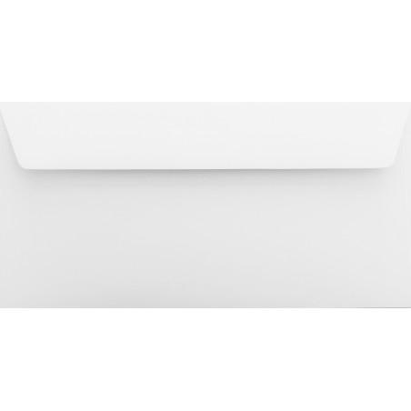 1 Briefumschlag Weiß Din lang 11 x 22 cm mit Haftstreifen