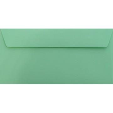 1 Briefumschlag Minze Din lang 11 x 22 cm mit Haftstreifen