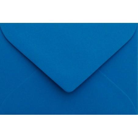 1 Briefumschlag Mini geeignet für Visitenkarten Blau 6 x 9 cm Verschluss-Technik: feuchtklebend