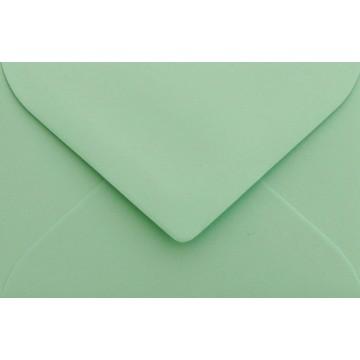 1 Briefumschlag Mini geeignet für Visitenkarten Minze 6 x 9 cm Verschluss-Technik: feuchtklebend