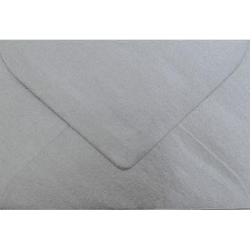 1 Briefumschlag Mini Silber 5,1 x 7,0 cm Verschluss-Technik: feuchtklebend