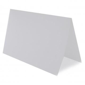 1 Tischkarte zum selbst Beschriften - Transparente/ Weiß Grammatur: 240 g/m² - 100 x 120 mm 10 x 12 cm