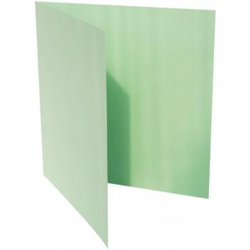 1-Quadratische Klappkarte zum selbst Beschriften in Minze von der Größe 135 x 135 mm 13,5 x 13,5 cm Grammatur: 300 g/m²