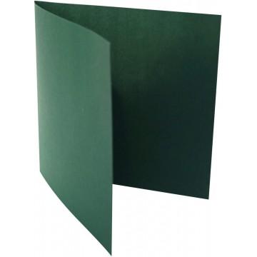 1-Quadratische Klappkarte zum selbst Beschriften in Tannen Grün der Größe 155 x 155 mm 15,5 x 15,5 cm Grammatur: 300 g/m²