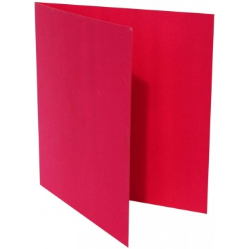 1-Quadratische Klappkarte zum selbst Beschriften in Pink der Größe 160 x 160 mm 16 x 16 cm Grammatur: 300 g/m²