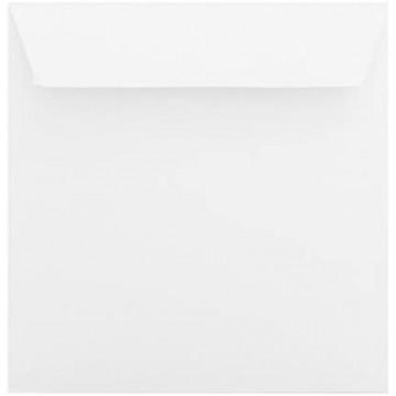 1 Briefumschlag 18,5 x 18,5 cm 185 x 185 mm Weiß Verschluss: Kuverts mit Haftstreifen Grammatur: 120 g/m²