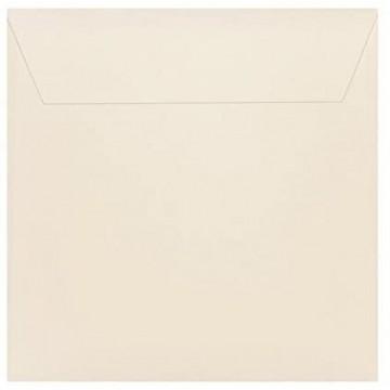 1 Briefumschlag 18,5 x 18,5 cm 185 x 185 mm Zart Creme Verschluss: Kuverts mit Haftstreifen Grammatur: 120 g/m²