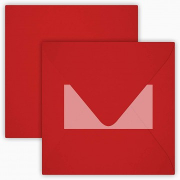 1 Briefumschlag 15 x 15 cm 150 x 150 mm Gras Grün Verschluss: Kuverts mit Haftstreifen Grammatur: 120 g/m²