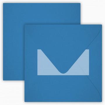 1 Briefumschlag 15,5 x 15,5 cm 155 x 155 mm Rosa Verschluss: Kuverts mit Haftstreifen Grammatur: 120 g/m²