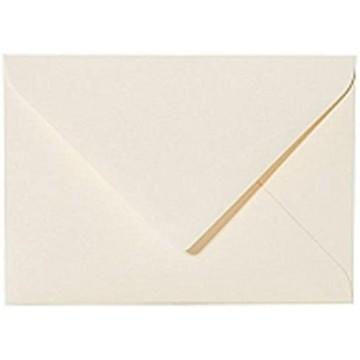 1 Briefumschlag 10,5 x 12,5 cm 105 x 125 mmWeiß Verschluss: feuchtklebend
