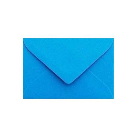 1 Briefumschlag 10,5 x 12,5 cm 105 x 125 mm Ozean Blau Verschluss: feuchtklebend
