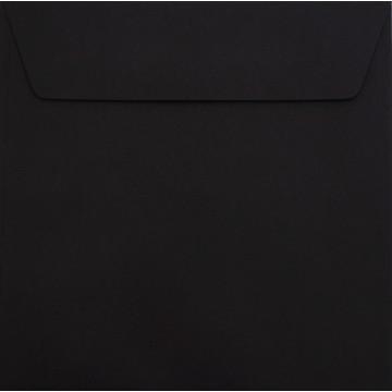 1 Briefumschlag 17 x 17 cm 170 x 170 mm Schwarz Verschluss: Kuverts mit Haftstreifen