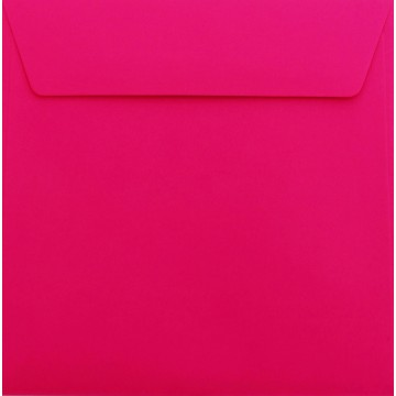 1 Briefumschlag 17 x 17 cm 170 x 170 mm Pink Verschluss: Kuverts mit Haftstreifen
