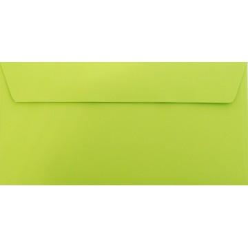 1 Briefumschlag Hell Grün Din lang 11 x 22 cm mit Haftstreifen