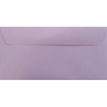 1 Briefumschlag Flieder Din lang 11 x 22 cm mit Haftstreifen