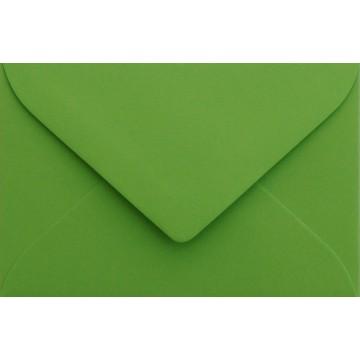 1 Briefumschlag Mini geeignet für Visitenkarten Gras Grün 6 x 9 cm Verschluss-Technik: feuchtklebend