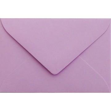 1 Briefumschlag Mini geeignet für Visitenkarten Flieder 6 x 9 cm Verschluss-Technik: feuchtklebend