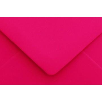 1 Briefumschlag Mini geeignet für Visitenkarten Pink 6 x 9 cm Verschluss-Technik: feuchtklebend