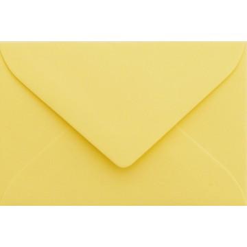 1 Briefumschlag Mini Hell Gelb 5,1 x 7,0 cm Verschluss-Technik: feuchtklebend