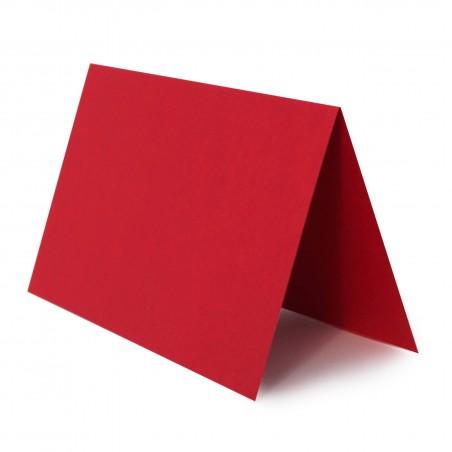 1 Tischkarte zum selbst Beschriften - Rosen Rot Grammatur: 240 g/m² - 100 x 120 mm 10 x 12 cm