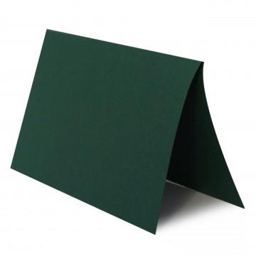 1 Tischkarte zum selbst Beschriften - Tannen Grün Grammatur: 240 g/m² - 100 x 120 mm 10 x 12 cm