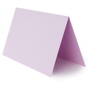 1 Tischkarte zum selbst Beschriften - Flieder Grammatur: 240 g/m² - 100 x 120 mm 10 x 12 cm