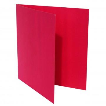 1 Quadratische Klappkarte zum selbst Beschriften Pink