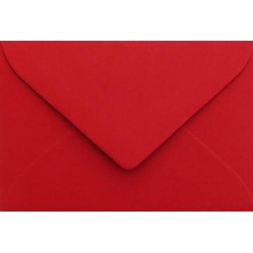1 Briefumschlag B6 DIN (12,5 x 17,6 cm) Rosen Rot , Verschluss-Technik: Freuchtklebend mit Dreieck Lasche Grammatur: 120 g/m²