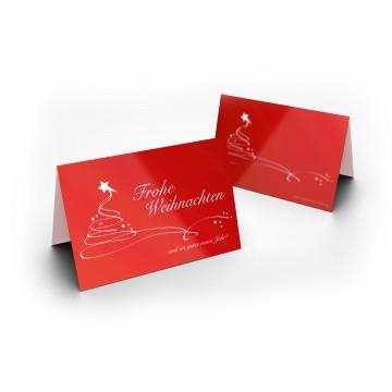 """Wunderschöne Weihnachtskarten """"Christmas Swing"""", A6,"""