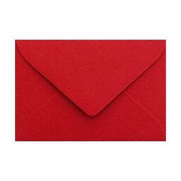 Briefumschläge B6 DIN (12,5 x 17,6 cm) Rosen Rot , Verschluss-Technik: Freuchtklebend mit Dreieck Lasche Grammatur: 120 g/m²