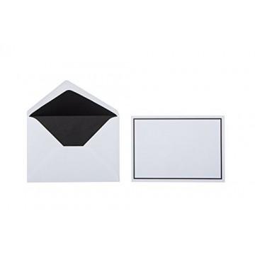 Trauer Briefumschläge ,Weiß mit Schwarzen Rand 12 x 17,5 cm sehr gute Qualität