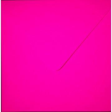 1 Briefumschlag 15,5 x 15,5 cm 155 x 155 mm Neon Pink Verschluss: feuchtklebend