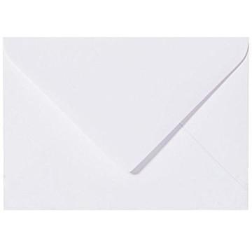 Briefumschläge C5 DIN (16,2 x 22,9 cm) -  Weiß