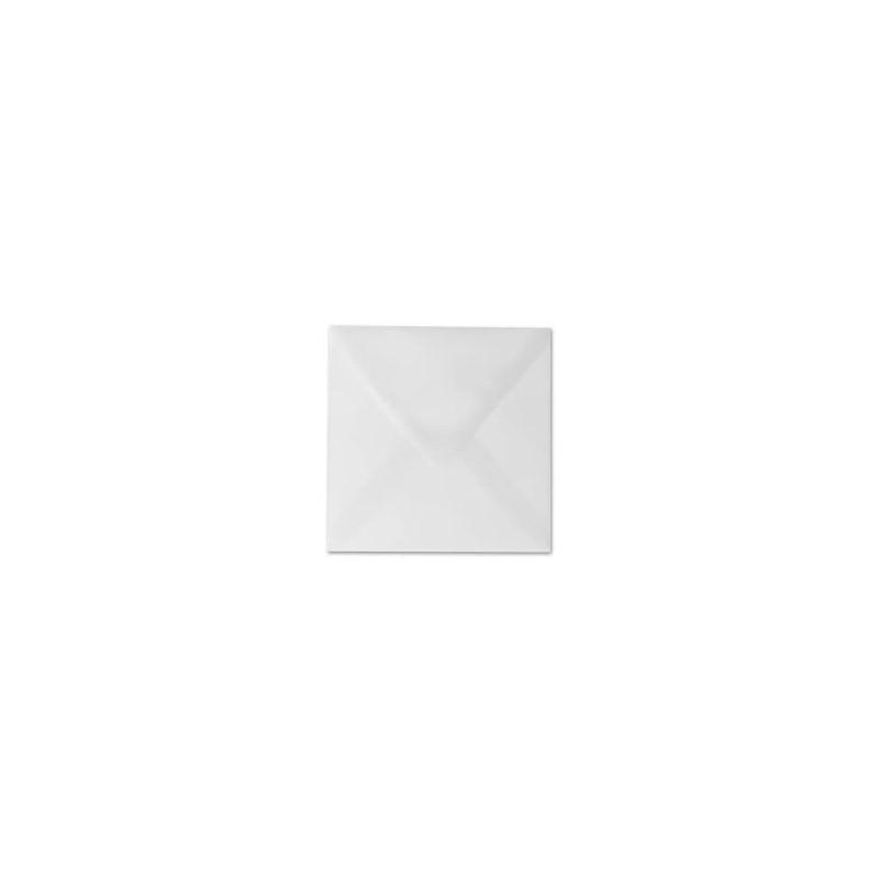 1 Briefumschlag 15,0 x 15,0 cm 150 x 150 mm Transparente/ Weiß Verschluss: feuchtklebend