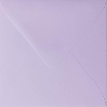 1 Briefumschlag 16,0 x 16,0 cm 160 x 160 mm Flieder Verschluss: feuchtklebend