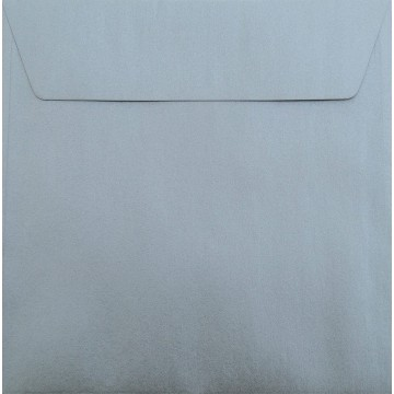 1 Briefumschlag 18,5 x 18,5 cm 185 x 185 mm Gold Metallic : Kuverts mit Haftstreifen Grammatur: 100 g/m²
