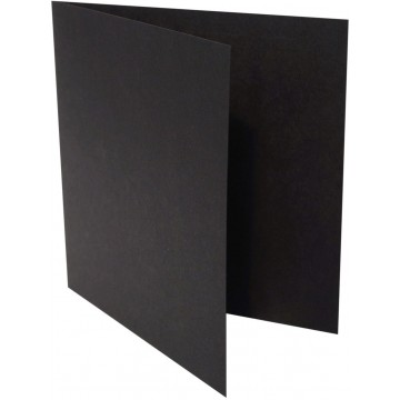 1-Quadratische Klappkarte zum selbst Beschriften in Hell Grün : von der Größe 100 x 100 mm 10 x 10 cm Grammabe:300 g/m²