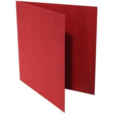1-Quadratische Klappkarten zum selbst Beschriften in Bordeaux : von der Größe 95 x 95 mm 9,5 x 9,5 cm Grammabe: 300 g/m²