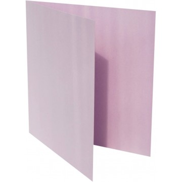 1-Quadratische Klappkarte zum selbst Beschriften in Flieder von der Größe 11 x 11 mm 110 x 110 cm Grammatur: 300 g/m²