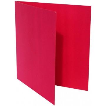 1-Quadratische Klappkarte zum selbst Beschriften in Pink von der Größe 130 x 130 mm 13 x 13 cm Grammatur: 300 g/m²